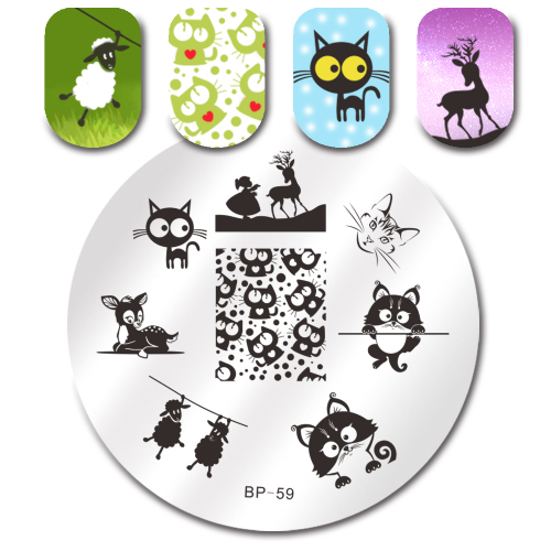 Born Pretty Plate # BP-59